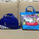 楽天市場で小学生と幼稚園児のプールバッグを購入しました!